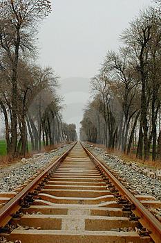 Railway Royalty Free Stock Photos - Image: 8470708