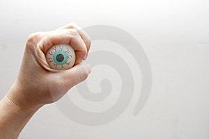 Scary Eye Stock Photos - Image: 8471253