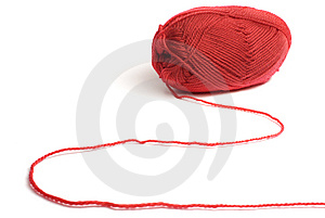 Woolen A Thread For Knitting Stock Photography - Image: 8471392