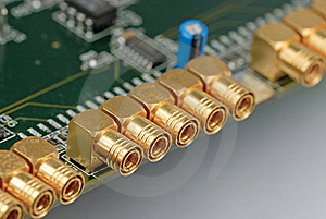 Coaxial Cable Connector Stock Photos - Image: 8471553