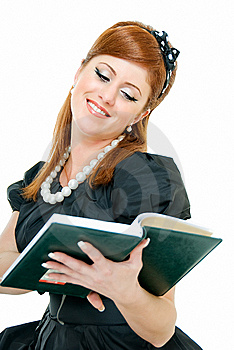 Contented Redheaded Royalty Free Stock Photography - Image: 8471557