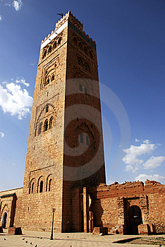 Koutoubia Royalty Free Stock Images - Image: 8472149