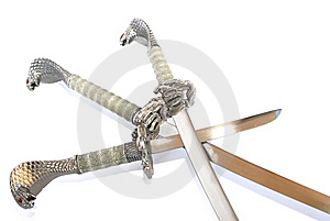 Daggers Royalty Free Stock Photography - Image: 8472617
