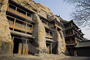 Chinese Ancient Architecture Royalty Free Stock Photo - Image: 8473265