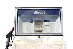 Petrol Pump Royalty Free Stock Image - Image: 8473406