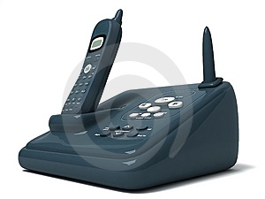 Cordless Phone Royalty Free Stock Photo - Image: 8473595