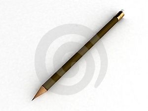 Sharp Pencil Stock Photo - Image: 8473600