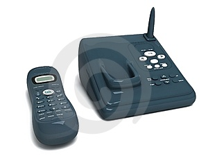 Cordless Phone Royalty Free Stock Photos - Image: 8474028