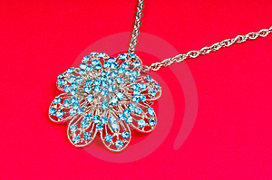 Diamond Pendant Stock Photography - Image: 8475622