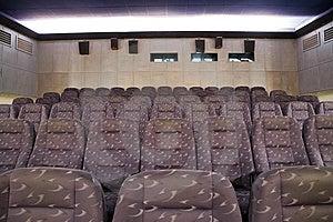Cinema Interior Royalty Free Stock Photography - Image: 8475707