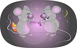 Funny Mouse Bandit Stock Photos - Image: 8475783