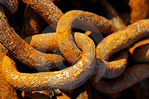 Rusty Chain Stock Photography - Image: 8475922