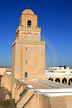 Kairouan Mosque Royalty Free Stock Images - Image: 8476839
