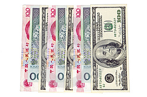 Different Banknotes - Money In One Row Stock Photos - Image: 8476853