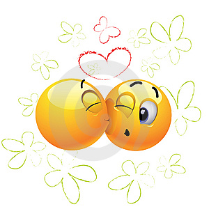 Smiling Balls Royalty Free Stock Photo - Image: 8476955