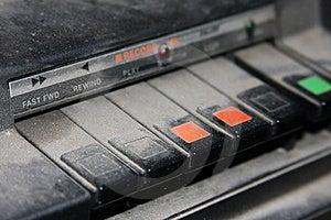 Taperecorder Στοκ Εικόνα - εικόνα: 8478071