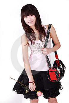 Chinese Girl Stock Photo - Image: 8478410