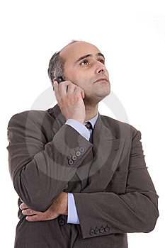 Portrait Of Successful Business Man Stock Image - Image: 8478541