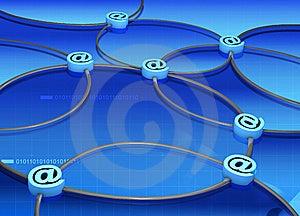 Communication Line Royalty Free Stock Photos - Image: 8478918