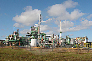 Chemical Plant Stock Images - Image: 8479034
