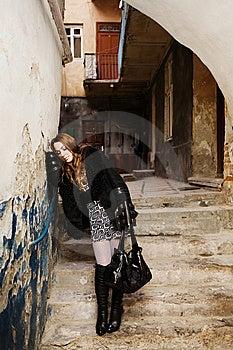 Sad Woman Stock Image - Image: 8479071