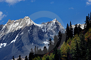Day View Of Highland At Sichuan Province China Stock Photos - Image: 8479733