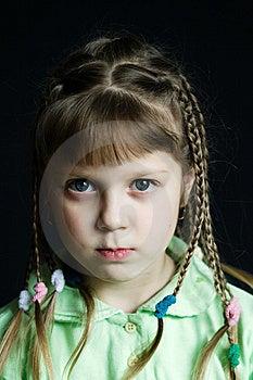 Sad Girl Stock Photo - Image: 8479740