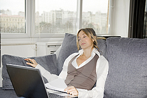 Working At Home Stock Photos - Image: 8480423