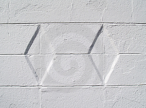 White Diamond Textured Exterior Wall Stock Images - Image: 8480504