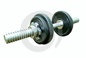 Weights Royalty Free Stock Photography - Image: 8480627
