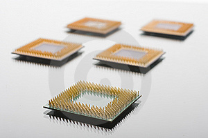 CPU Stock Photo - Image: 8481310