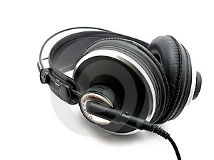 Professional Headphones Stock Photo - Image: 8482940