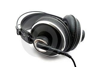 Professional Hörlurar Arkivfoto - Bild: 8482940