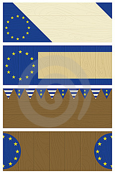 Backgrounds With Eu Banner Royalty Free Stock Photo - Image: 8483345