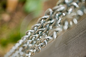 Parallel Chains Stock Images - Image: 8483494
