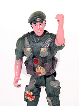 Toy Soldier Royalty Free Stock Image - Image: 8484056