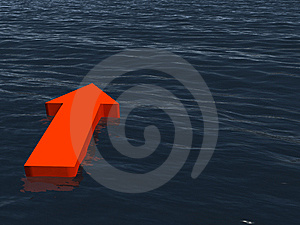 Direction At The Sea Stock Image - Image: 8484271