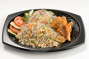 Stir-fried Rice Royalty Free Stock Image - Image: 8485936