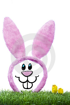 Illustration Of Funny Rabbit Royalty Free Stock Image - Image: 8485946
