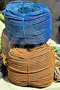 Rope Bundles Royalty Free Stock Photography - Image: 8486957