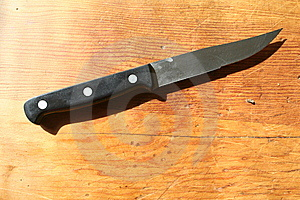 Knife Stock Image - Image: 8486971