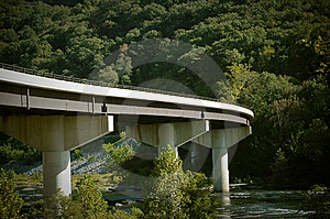 Bridge At Harpers Ferry Stock Photos - Image: 8487123