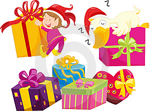 Presents Royalty Free Stock Image - Image: 8487546