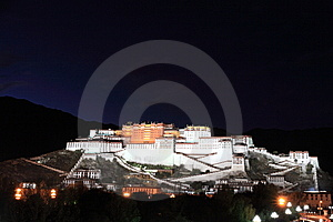 Potala Palace Stock Photography - Image: 8487722