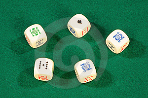 Playing Bones Royalty Free Stock Photo - Image: 8488055