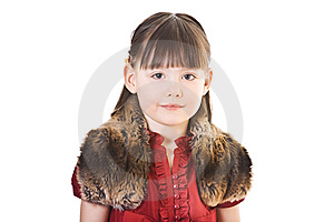 Portrait Of Small Girl Stock Photos - Image: 8488493