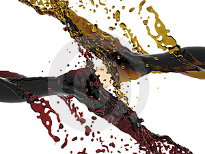 3d Render Of Vine Flow Stock Photography - Image: 8488762