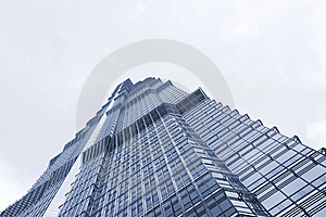 Famous Buildings - Jin Mao Tower Shanghai Stock Image - Image: 8488821