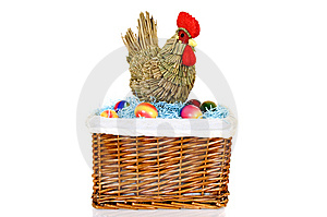 Easter Basket Stock Photography - Image: 8489552