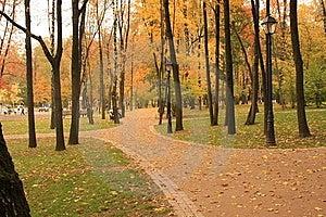 Parkowy Moscow Odtwarzanie Zdjęcia Royalty Free - Obraz: 8489638